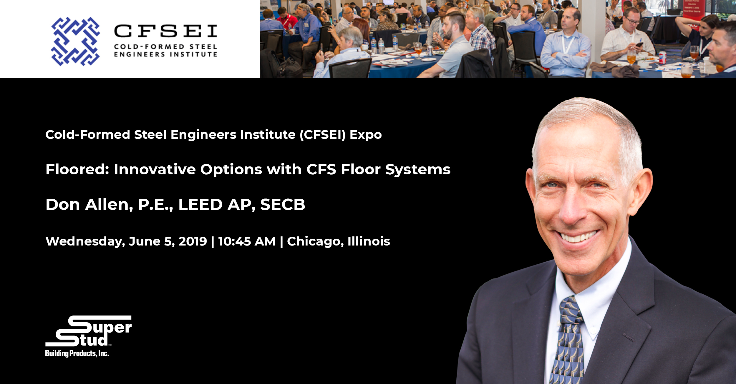Don Allen to Present at CFSEI