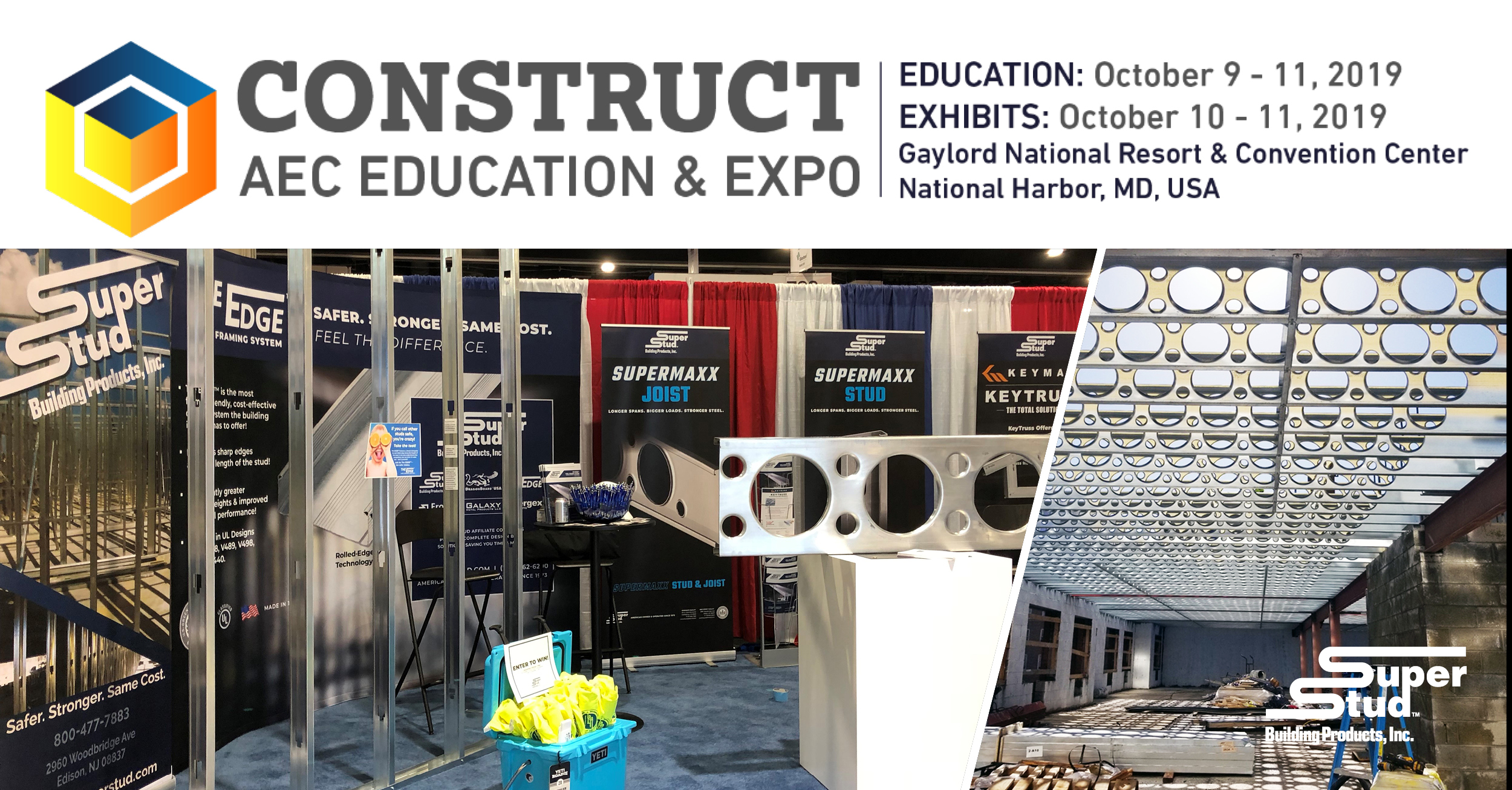 Super Stud to Exhibit at Construct