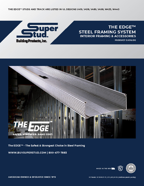 The EDGE™ Steel Framing Drywall System