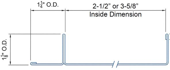 F-Track Technical Dimensions